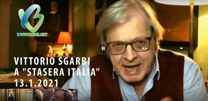 Sanificatori contro il Covid: così Sgarbi in tv